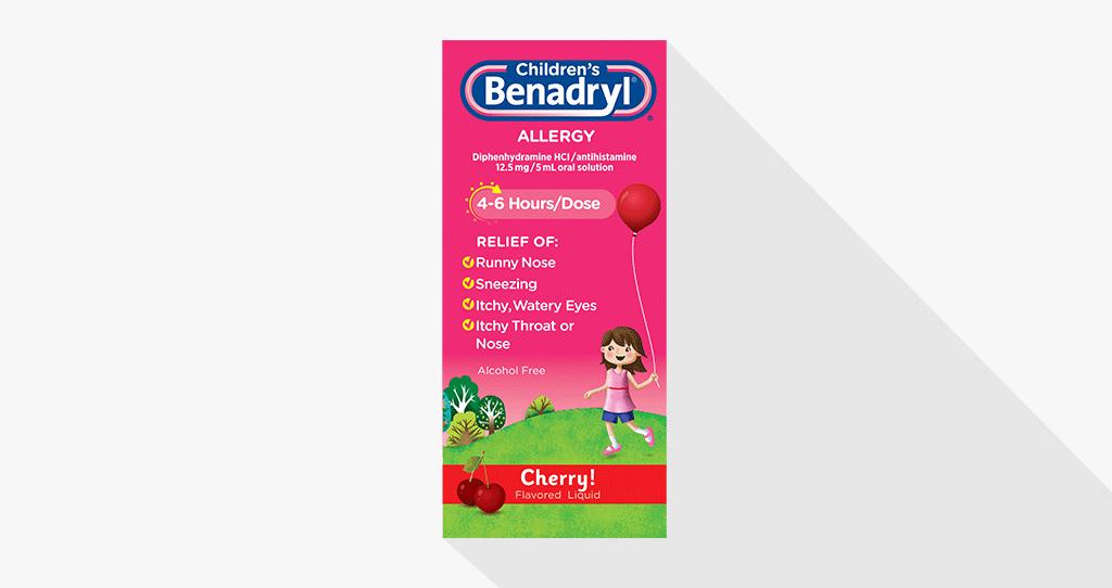 BENADRYL® Dosing Guide | BENADRYL®