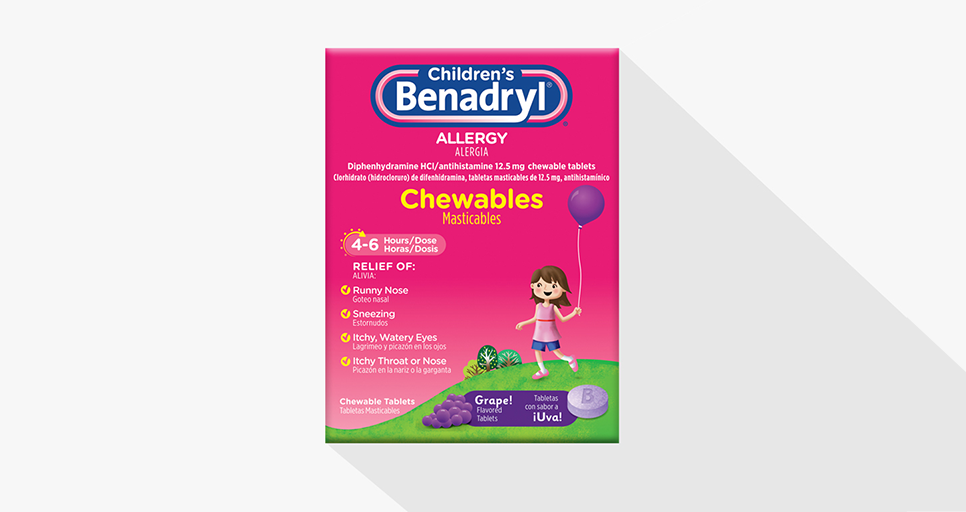 Benadryl Dosage Chart - Delaware Pediatrics