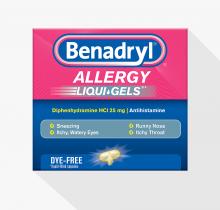 BENADRYL® Allergy LIQUI-GELS®