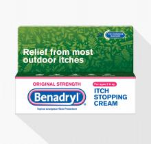 Original Strength BENADRYL® Itch Stopping Cream Small