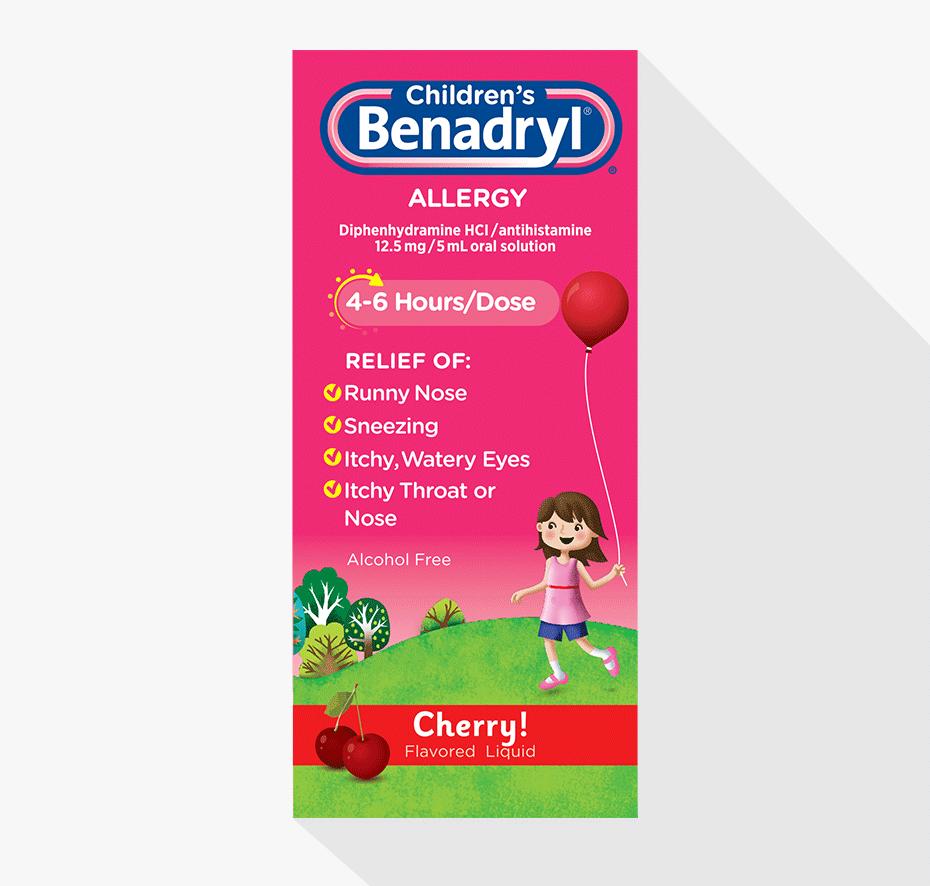 Children S: Children's BENADRYL® Allergy Liquid