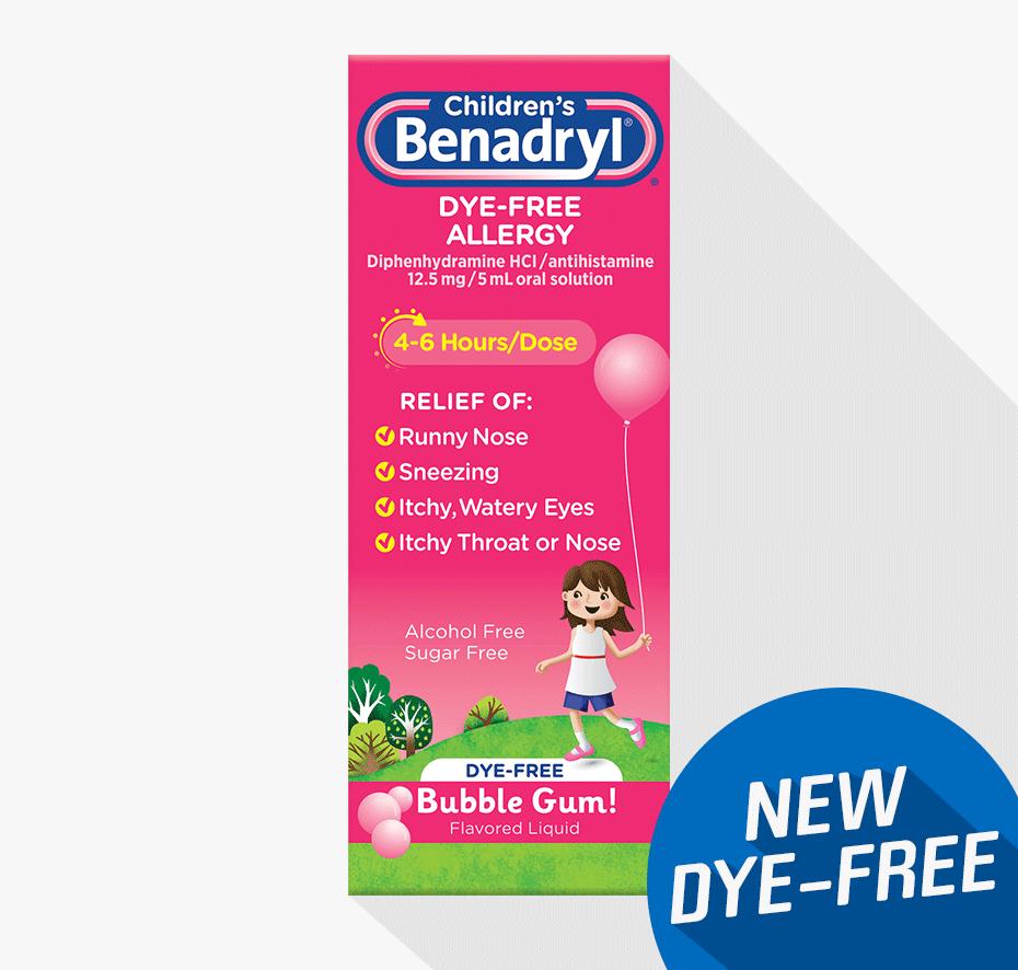 Benadryl Dosage Infants