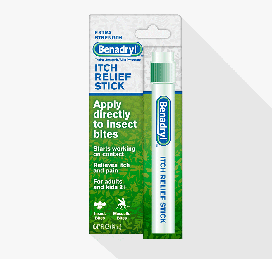 BENADRYL® Extra Strength Itch Relief Stick Small