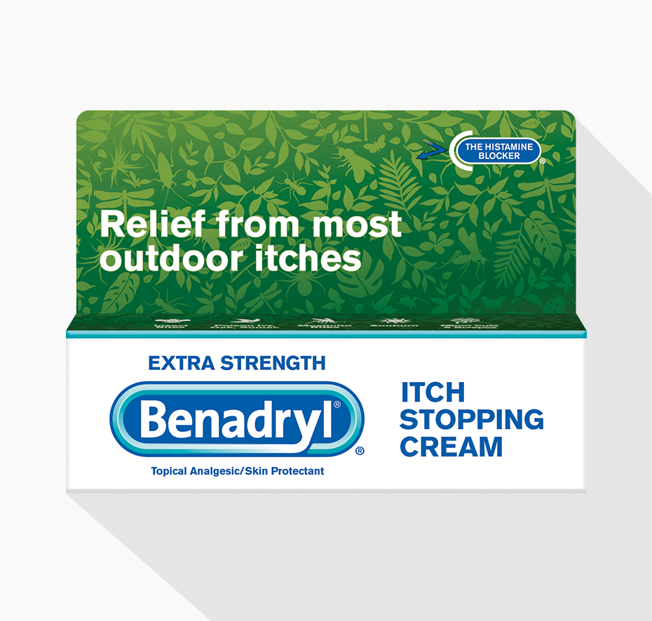 benadryl stop itching cream