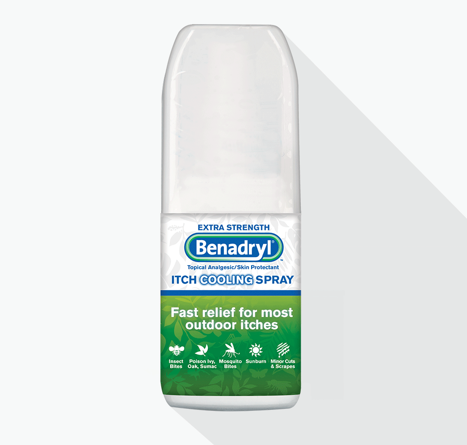 BENADRYL® Extra Strength Spray Small