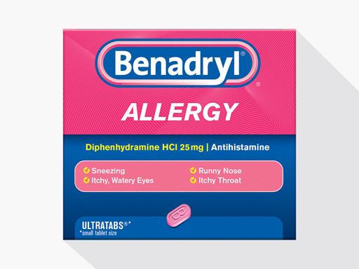 Productos BENADRYL® para la alergia