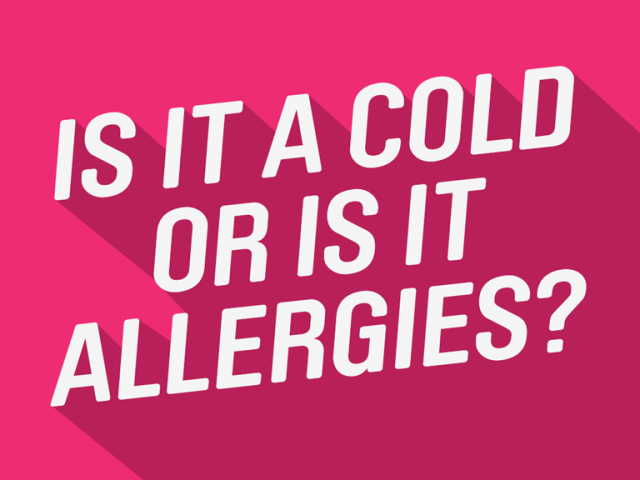 Allergies vs Cold